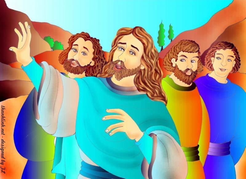 Thánh Kinh bằng hình CN 6 Phục Sinh B