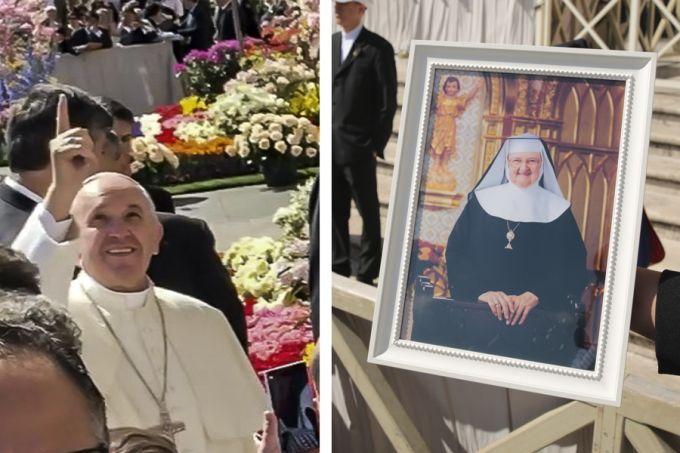 ĐGH Phanxicô: Mẹ Angelica đang ở trên Thiên Đàng