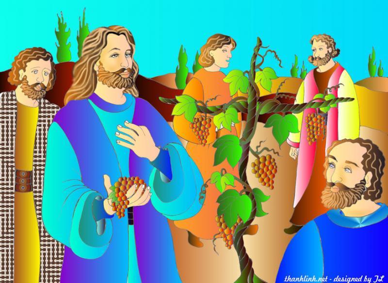 Thánh Kinh bằng hình CN 5 Phục Sinh B
