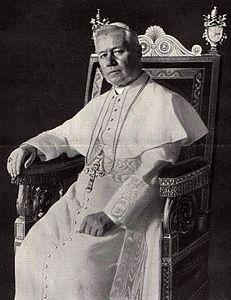 Chân dung Thánh Giáo Hoàng Piô X